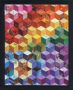 I've seen this block pattern elsewhere too.  I would like to try it someday.