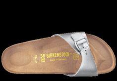 Birkenstock Madrid silver