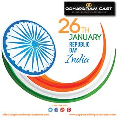 It's 26th January today, The historical day to remember our national heroes & freedom fighters, Who suffered to give us a republic nation. Happy 26th January, #HappyRepublicDay!