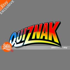 Womens Fit: Quiznak / Voltron Tee / Typography Tee by zerobriant