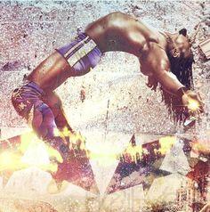 Kofi Kingston by Patrick S #WWE - WWE posted my FanArt on their Pinterest ;) #EveTorres #BelieversBoard