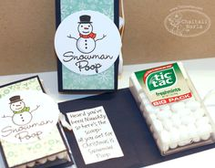 Created by Chaitali Narla! Snowman Poop, Snowman Crafts, Snowmen, Jingle Bells, Christmas Snowman, Craft Fairs, Holiday Gifts, Soup, Challenges