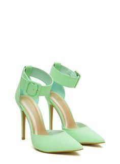 We're head over heels with these babies. These ankle strap...
