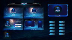 Design twitch facebook you tube overlay for you by Nrbdesign