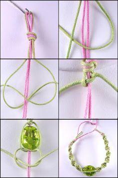 Macrame bracelet how to