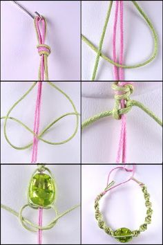 Macrame bracelet how to