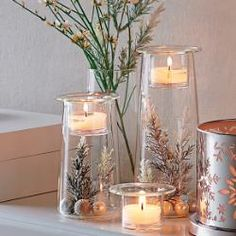 can be found at www.partylite.biz/eileenbinkofsky..Symmetry Trio #Candle holder by #PartyLite  #Christmas