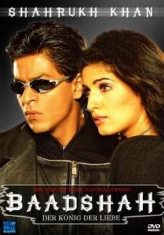 Shahrukh Khan and Twinkle Khanna - Baadshah - German edition Best Bollywood Movies, Watch Bollywood Movies Online, Hindi Movies Online, Bollywood Songs, Bollywood Actors, Srk Movies, Movies 2014, 2020 Movies, Movies Free