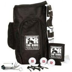 Deluxe Shoe Bag Kit w/ Wilson Ultra Distance Golf Balls