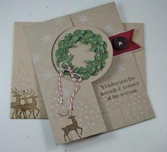 WARMTH & WONDER CIRCLE CARD by happystamper09 - Cards and Paper Crafts at Splitcoaststampers