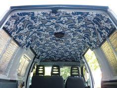 Rear of van roof lining styles - VW T4 Forum - VW T5 Forum