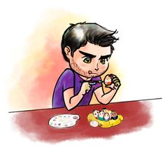 sterek story | yomikoda:Happy Easter !