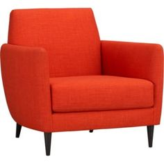I have a thing for Danish design and this chair. And orange. Designing my living room around it...