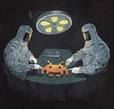 Alien Autopsy by Chris Rowson