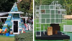 'The Tent' by Randal Hampson and Jamie Smith (2015) and 'Cubey House' by Arkhefield and Grocon (2016)