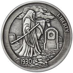 Hobo Nickel Series #1-1 oz .999 Antiqued Coin Antique Fisherman Silver Round