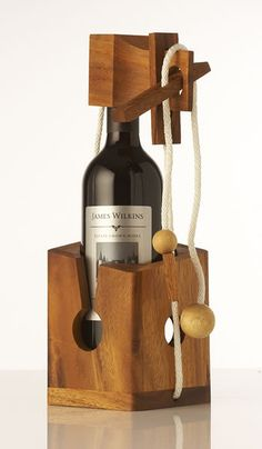 Wine Challenge , Wooden games , Wooden puzzle , Games & Puzzles, Wooden game, Puzzle box , Christmas Gift. on Etsy, $24.95