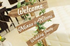 GARDEN FES WEDDING|ウェディング事例|結婚式|wedding|T&G|卒花嫁|三重|ARCH DAYS Wedding Welcome, Place Card Holders, Garden, Party, Space, Display, Weddings, Natural, Board