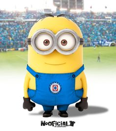 soccer minion cruz azul!!! They know whats good!