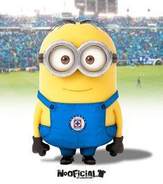 #Soccer #minion #NoOficial #LigraficaMX #CruzAzul