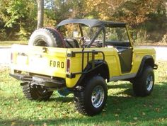 """My 1969 Ford Bronco.  35"""" BFG's...soft doors and soft top.  The flaming river steering shaft and James Duff steering stabilizer makes this ride and maneuver like a dream!"""