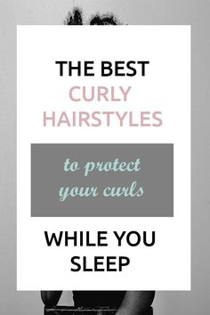 These are naturally curly hairstyles for medium hair but they can work on hair that is short long or mid length. An updo is best for when you're sleeping. These are easy hairstyles that are also cute. - August 10 2019 at Easy Hairstyles For Medium Hair, Easy Hairstyles For Long Hair, Diy Hairstyles, Medium Hair Styles, Hairstyle Ideas, Night Hairstyles, Curly Hair Tips, Curly Hair Care, Curly Hair Styles