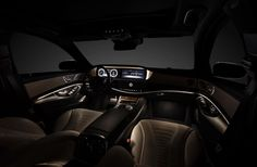 Mercedes New S Class 2013 Shows Off It's Luxury Interior, check it out! #Luxury #MassageSeats!?!