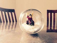 Fairy in an jar