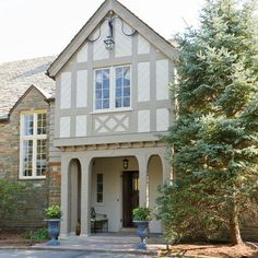 Tudor House Paint Colors Design Ideas, Pictures, Remodel, and Decor - page 29