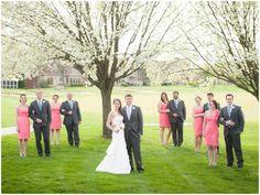 Wedding Photo: Bridal Party by Paul & Miranda Photography via Heather Renee Celebrations