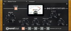 Finally got the Soundtoys Decapitator. Very rare that we use some digital distortion on tracks but this thing really rocks!!!