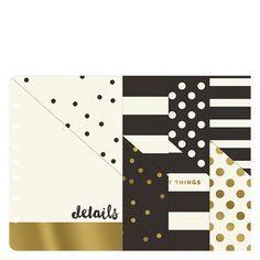 Gold Planner Love Pocket Dividers [set of 4] (FranklinCovey / Franklin Planner)