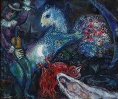 Marc Chagall. La nuit enchantee, 1964