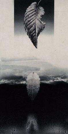 wakatsuki kohei | phase at zero | etching, aquatint, and chine-colle print