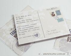 Tamanho compatível com o de um cartão postal