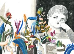 felicita sala illustration: new work and bologna book fair