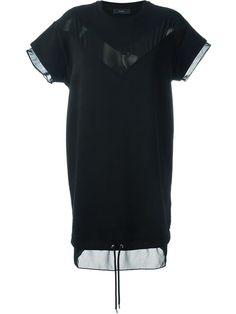 DIESEL Sheer Panel Knit Dress. #diesel #cloth #dress