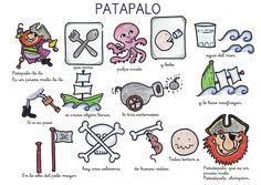 Menta Más Chocolate - RECURSOS PARA EDUCACIÓN INFANTIL: Poesía del PIRATA PATAPALO