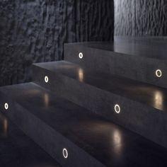 LED aluminium foot- and walkover light G-O - FLOS