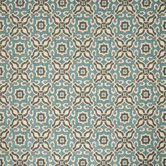 Warwick Fabrics : PUEBLO, Colour AQUA