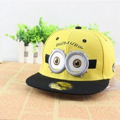Lovely Minions hip hop hat Gorras hats sport kids baseball caps Parent  Children women men casquette adea5163458