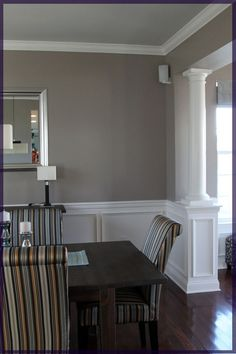 trim and wall color... for the tv room