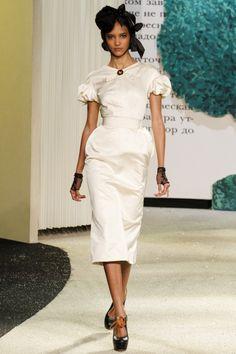 Ulyana Sergeenko,  Весна-лето 2013, Couture, Париж