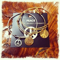 Peace. Alex and Ani