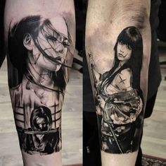 Tattoo Japanese fighter   #Tattoo, #Tattooed, #Tattoos