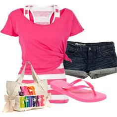 Cute outfit for the beach