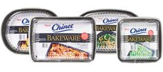 Chinet Bakeware® - The first disposable baking dishes that let you take your food from oven to table to freezer to microwave, all in one attractive, non-stick pan. Baking Pans, Baking Dishes, Easy Christmas Dinner, Care Calendar, Cheese Rice, Aluminum Pans, Baked Rice, Disposable Tableware, Little Chef