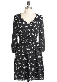 I've Bird About You Dress, #ModCloth