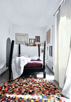 white - Moroccan style
