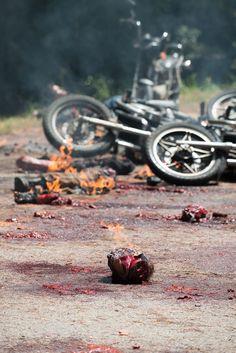 Behind the Scenes – The Walking Dead _ Season 6, Episode 9 – Photo Credit: Gene Page/AMC